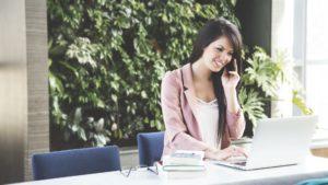 Nous pouvons même envisager des cours par téléphone !